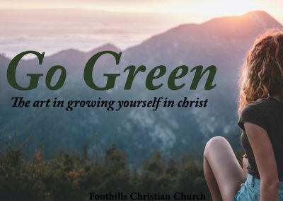 Go Green With Christ